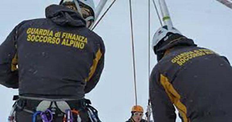 soccorso alpino guardia di finanza