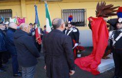 CARABINIERI - Scoperto un cippo alla memoria del Generale Romano