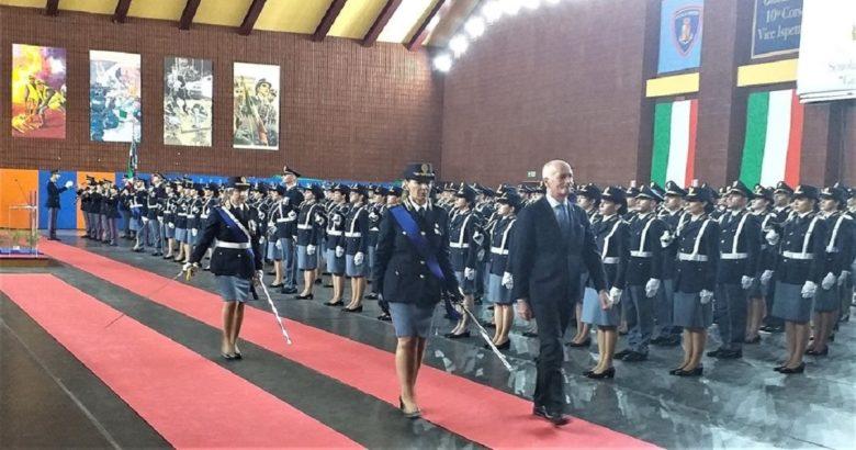 Campobasso, Polizia di Stato, Giuramento, vice ispettori, Gabrieli