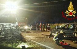 Riccia, Incidente mortale, scontro auto-camion