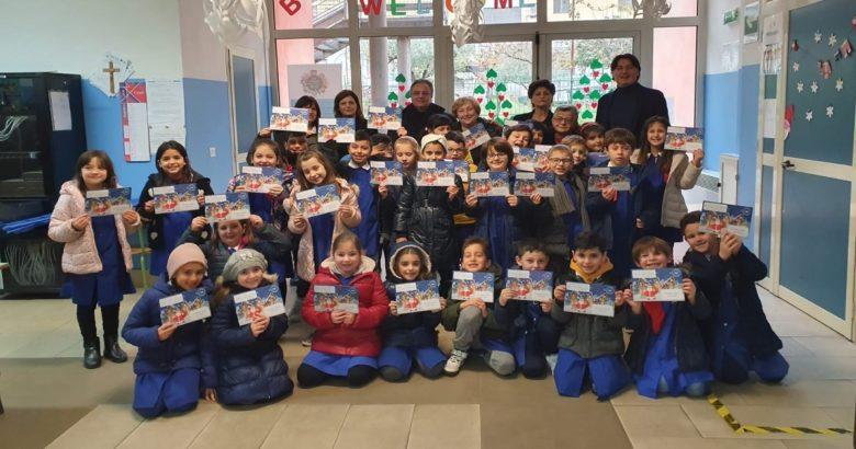 VENAFRO - Gli alunni del Pilla scrivono a Babbo Natale, iniziativa di Poste Italiane