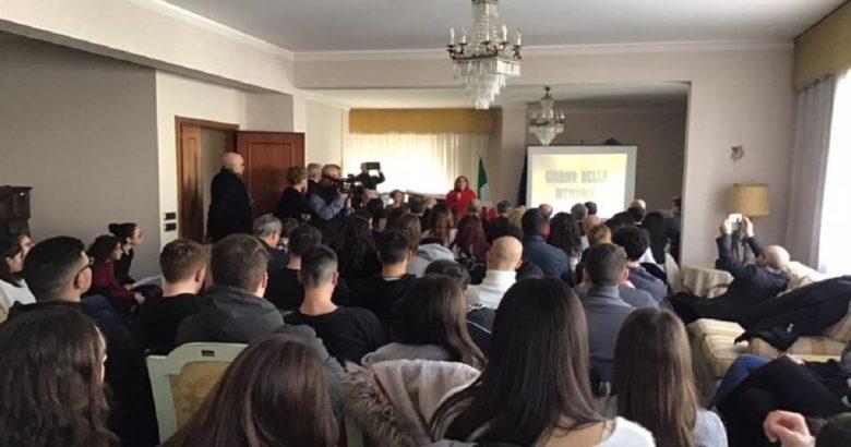 ISERNIA - Giornata della memoria, cerimonia in Prefettura con i studenti