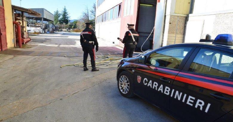 POZZILLI, Ladri, nucleo industriale, sventato furto, Carabinieri Venafro, maxi-furto, rame, ladri in fuga