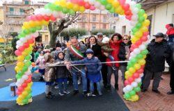 A Montenero inaugurato il Parco giochi Il Magico mondo di Tecla