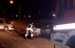 Incidente, tre auto coinvolte due feriti in ospedale