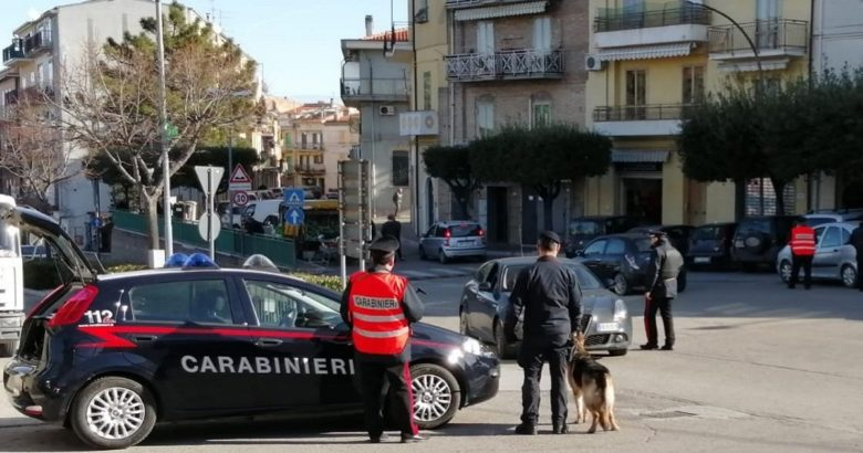 SICUREZZA - Montenero di Bisaccia il centro passato al setaccio dai Carabinieri
