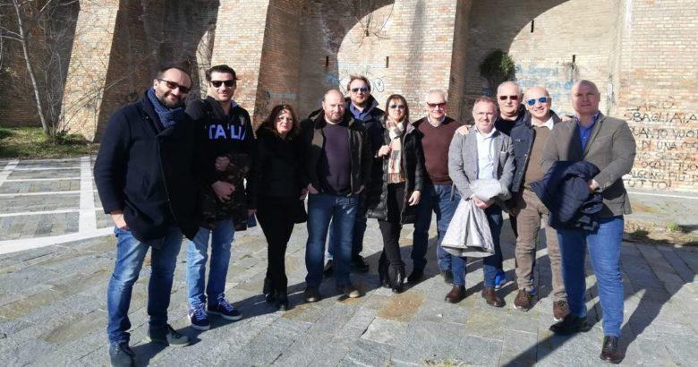 TERMOLI - Chioschi, sopralluogo della Quarta commissione consiliare in viale Marinai d'Italia