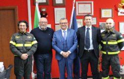 VISITA - Il nuovo Questore Conticchio presso il Comando regionale della Guardia di Finanza