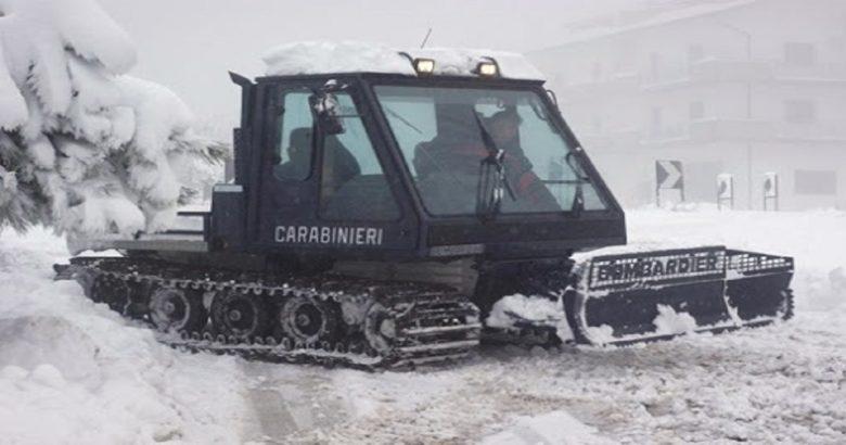 Carabinieri, provincia di Isernia, assistenza popolazioni locali, neve