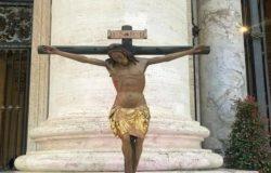 CORONAVIRUS, Processione virtuale, web, Crocefisso, Papa Francesco