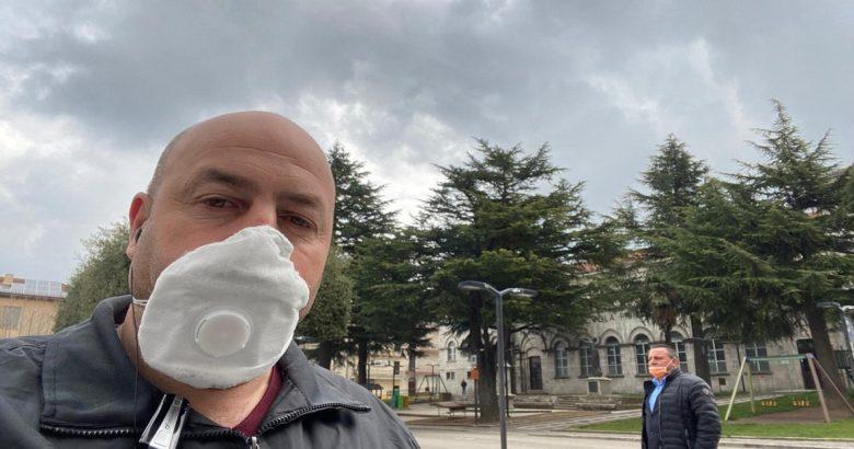CORONAVIRUS RICCIA SINDACO TESTA
