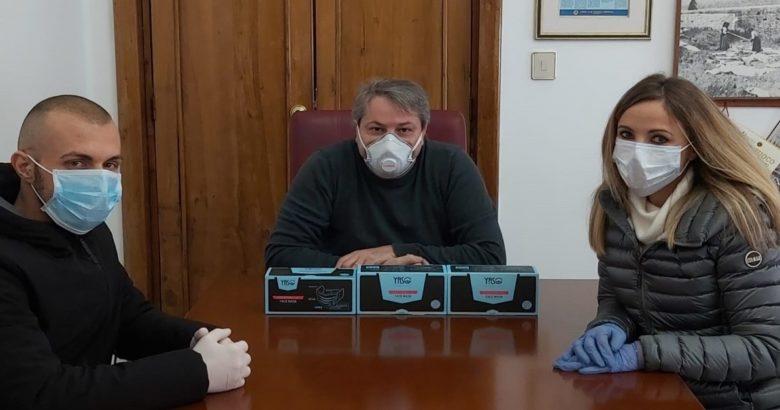 EMERGENZA CORONAVIRUS, Donate, mascherine, comune di Termoli, volontari di Protezione Civile