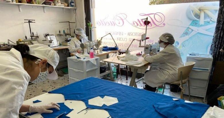 ISERNIA - La sartoria 'Tutto Cucito' converte la sua produzione e cuce mascherine