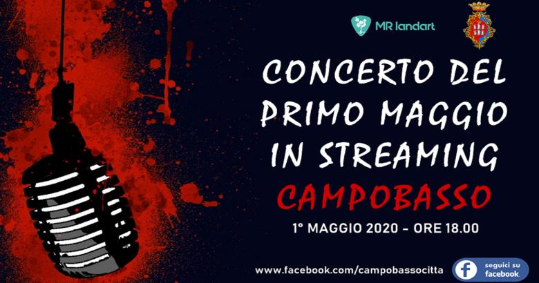 1° MAGGIO - Campobasso, concerto in streaming di artisti molisani