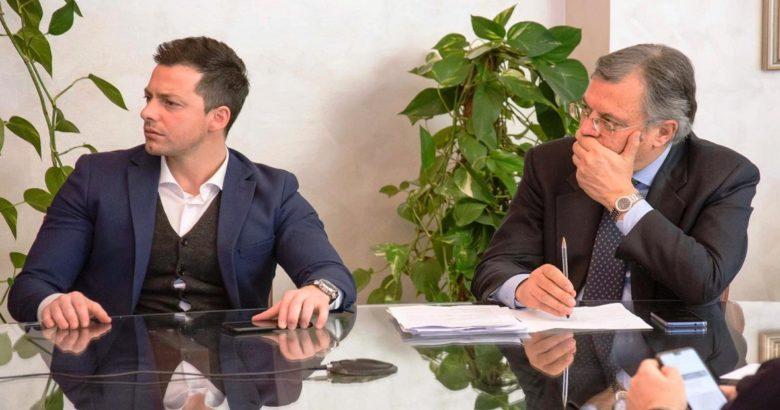 Andrea greco e Vittorio Nola