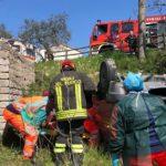 CRONACA - Si sente male in auto, finisce contro un muretto e si ribalta: muore un 73enne