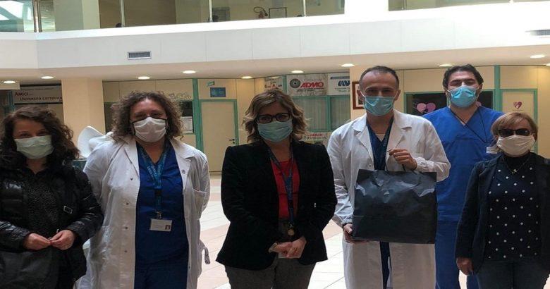 EMERGENZA CORONAVIRUS, Ordine infermieri, Gemelli Molise, mascherine