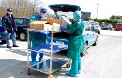 EMERGENZA CORONAVIRUS - Prodotti igienizzanti donati da privati alla Questura