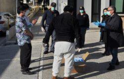 EMERGENZA CORONAVIRUS, Studenti cinesi, salviette igienizzanti, agenti di Polizia