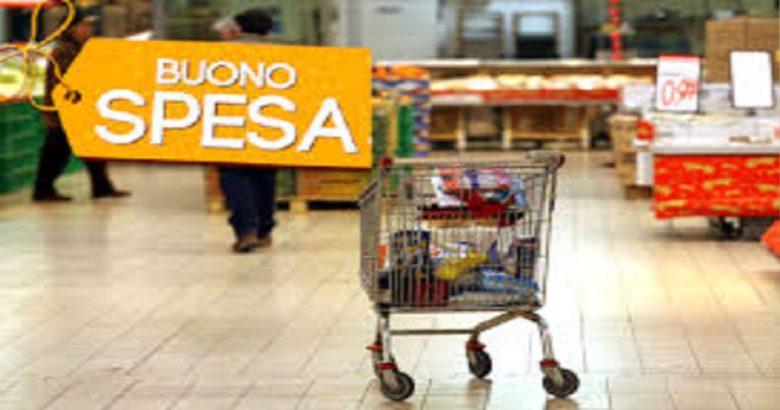 EMERGENZA CORONAVIRUS, supermercati, buoni spesa