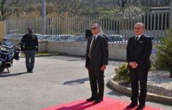 ISERNIA, Anniversario, Fondazione della Polizia di Stato, Deposizione corona