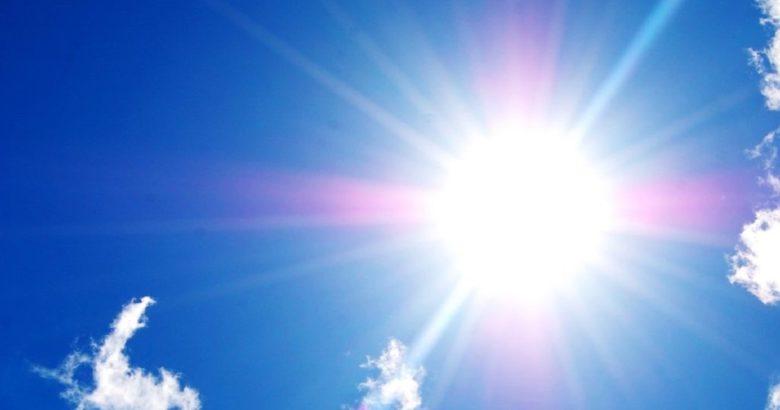 caldo in aumento e tanto sole