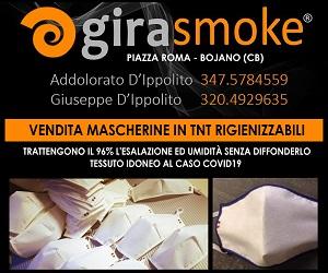vendita mascherine girasmoke