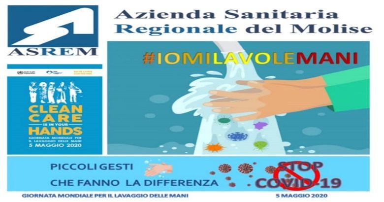 COVID19 - #iomilavolemani, l'ASReM aderisce alla campagna informativa promossa dall'OMS