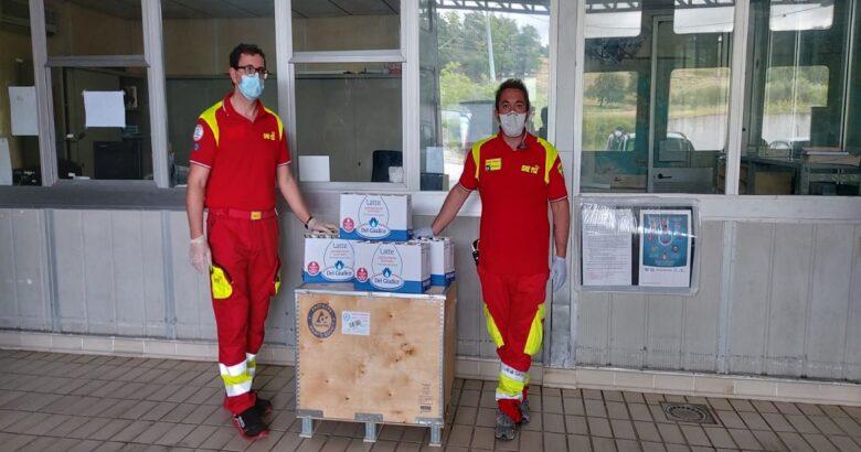 Emergenza coronavirus, Termoli, solidarietà, Del Giudice
