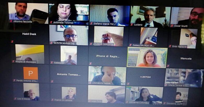 PD REGIONALE - In video conferenza con i vertici della sanità nazionale dice no a Toma Commissario