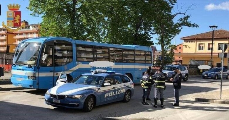 POLIZIA, Fase 2, Controlli, trasporto pubblico locale