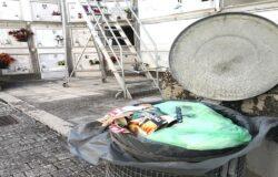RIFIUTI, Campobasso, bidoni, cimitero, spazzatura