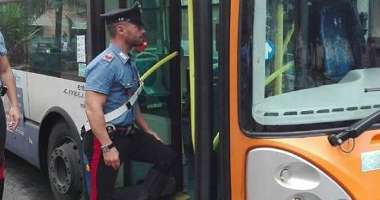 controlli carabinieri TRASPORTO PUBBLICO