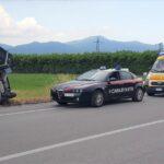 CRONACA - Auto sbanda e finisce nella cunetta lungo la SS 85 Venafrana: paura per una donna