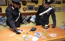 ISERNIA, Fermato, Carabinieri, marijuana, auto, denunciato, spacciatore