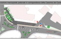 ISERNIA, marciapiede, Caserma dei Carabinieri, al via i lavori