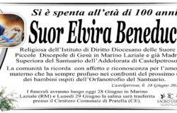 LUTTO, casa del padre, Suor Elvira Beneduce, Madre Superiora, Santuario dell'Addolorata, Castelpetroso