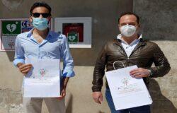 MONTENERO DI BISACCIA, defibrillatore, donazione, associazione Lory a Colori Onlus