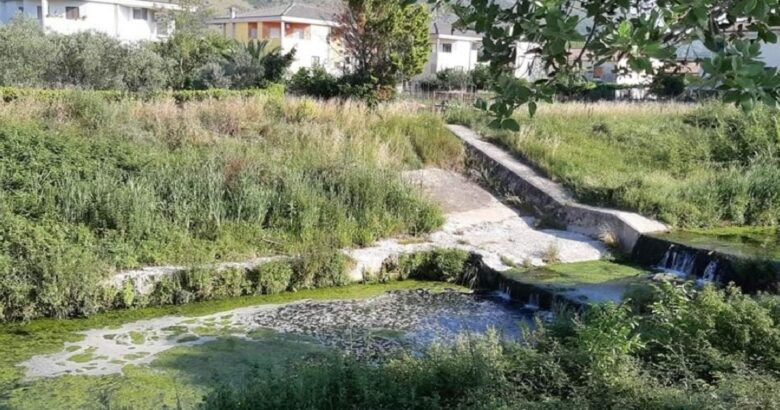 VENAFRO - Torrente Rava, allarme inquinamento
