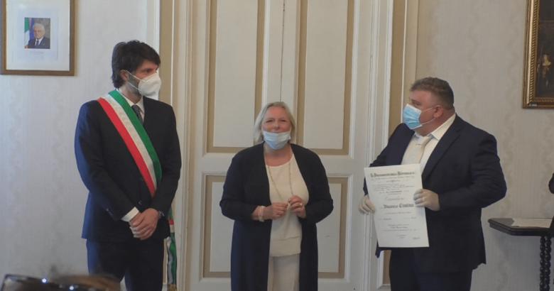 Vincenzo Cimino Cavaliere della Repubblica