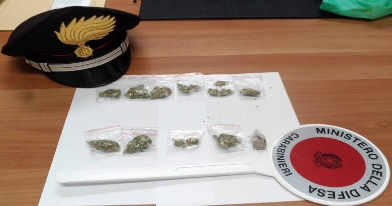 marijuana, denunciati, ventenni