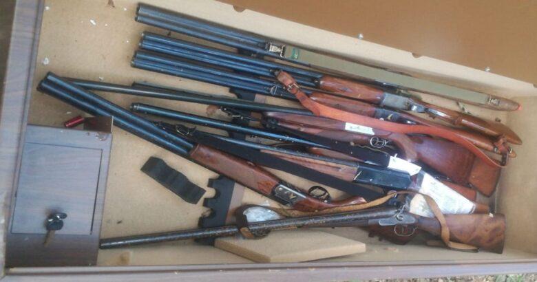 CARABINIERI, armi, indagini in corso