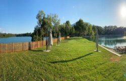 Lago dei cigni, area verde, Torcino, Venafro