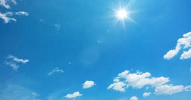 METEO - Soleggiato, bel tempo per il resto della settimana