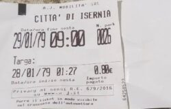 ISERNIA, Strisce blu, proteste, biglietti datati '79