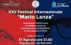 Mennella, Filignano, Omaggio a Ennio Morricone, XXV° Festival Mario Lanza