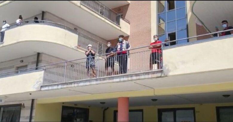 Migranti, il Geco, Isernia