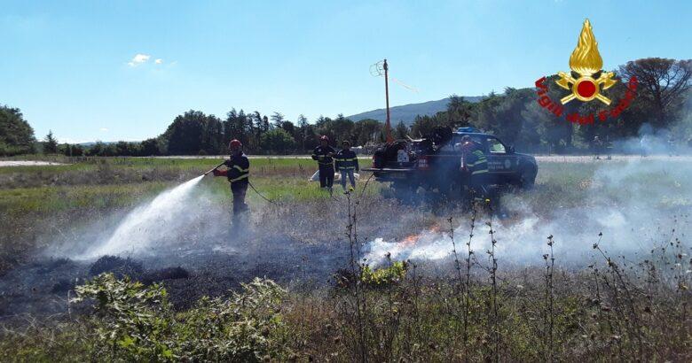 Lotta agli incendi, Vigili del Fuoco, Protezione Civile Regionale