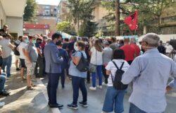 REGIONE Molise, Consiglio turbolento, protesta, lavoratori Gam, Toma