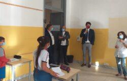 SCUOLA, Campobasso, Primo giorno, assessore Praitano